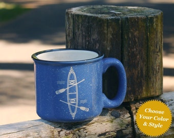 Canoe Mug - Choose Your Cup Color