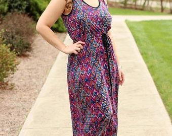 Lily Bird Studio PDF sewing pattern Rinna's dress for women - XS to XXL