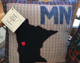 Love Minnesota Pillow!