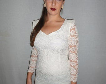 Vintage Lace minidress