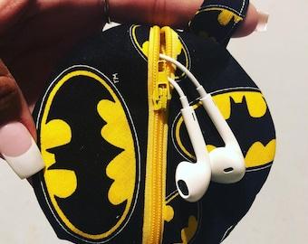 Batman headphone case