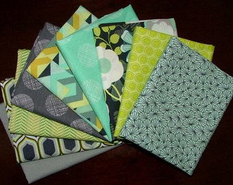 Urban Mod Fat Quarter Bundle of 9 by Art Gallery in House Stuio - 2 LEFT