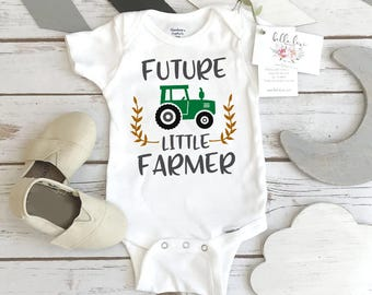 Pregnancy Announcement, Future Little Farmer, Baby Shower Gift, Country Baby Coming, Baby Reveal, Pregnancy Reveal, Baby Announcement, Farm
