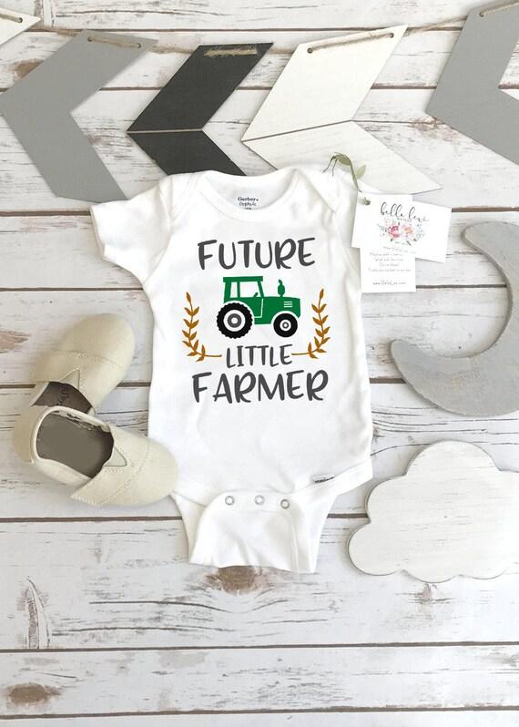 Pregnancy Announcement Future Little Farmer Baby Shower