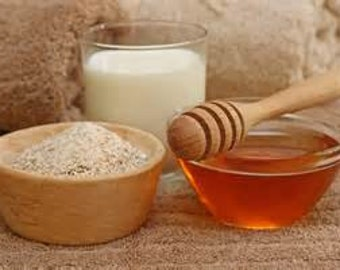 OATMEAL MILK & HONEY Premium Fragrance Oil - 1 or 2 oz. size - Incense, Bath and Body Products, Soap, Candles