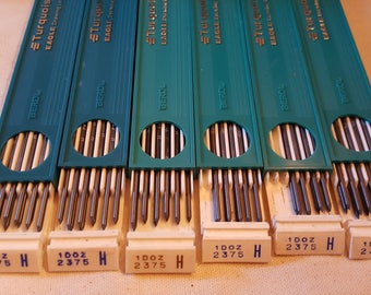 Box of 6-NOS Eagle-Turquoise-H-Drawing-Leads-2375 L@@K!!