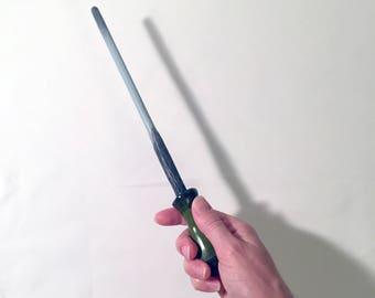 "Magic Wand - Hand made - Custom made wand - Witch gift - Wizard gift - Magic wand gift - 100% original design - Gramina ""Meadow"" wand"
