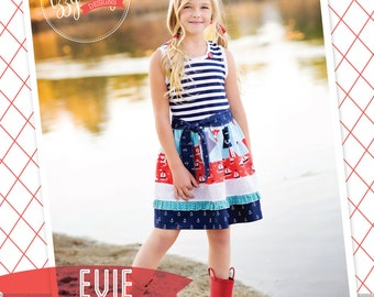Evie Sun Dress PDF Pattern