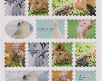 Animal Stickers - La Dolce Vita Mind Wave Stickers - Reference F1911F2334