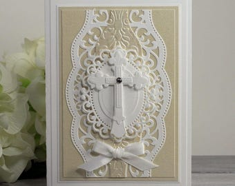 Baptism Cards - Handmade Greeting Cards - Personalized Cards - Cards for Baptisms - Christening Cards - Luxury Greeting Card