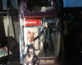 Batman The Dark Knight The Joker with Crime Scene Evidence Action Figure