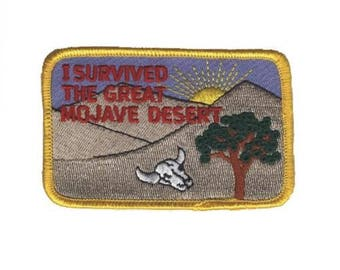 I survived the Great Mojave Desert Patch - California (Iron on)
