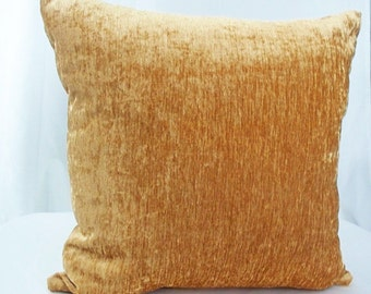Gold velvet pillow, Velvet gold pillow, Gold pillow cover, Gold pillow cases, Gold pillow, Velvet pillow cover, Velvet pillow case