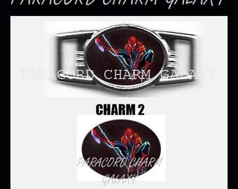 SPIDERMAN Paracord Bracelet Charm Shoelace Charm Charm 2