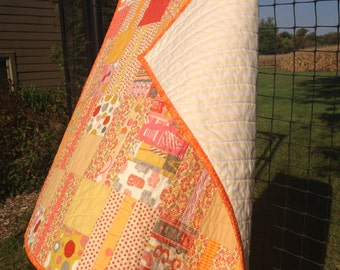 Yellow There!  Baby Quilt