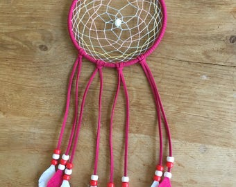 Dream Catcher with Felt Feathers- 5in