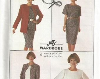 Simplicity 9254 Jiffy Wardrobe Pattern SZ 4-12