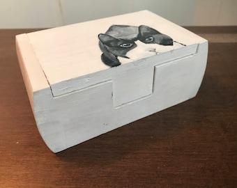 Tuxedo Cat Box