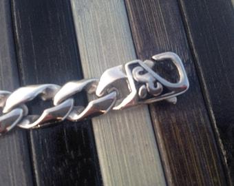 Templar chain stainless steel bracelet