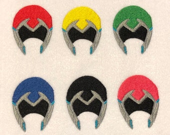 Voltron Paladin Helmet Iron-On Patches