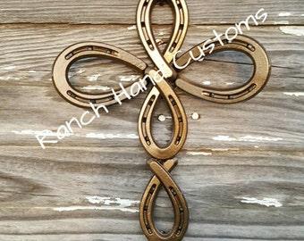 Angel Horseshoe Cross