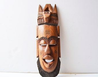 African wooden mask home decoration