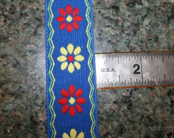 Vintage Royal Blue Trim
