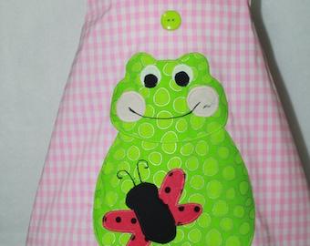 Sundress, baby girl, Frog, Pink Gingham, Butterfly, beach, summer, baby girl clothing, baby shower gift, 1st birthday, birthday, toddler