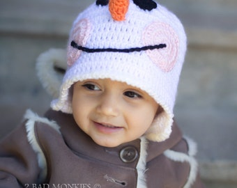 baby Christmas hat, Christmas hat, Toddler Christmas hat, Snowman Hat, Adult Christmas hat, baby Snowman hat, winter hat