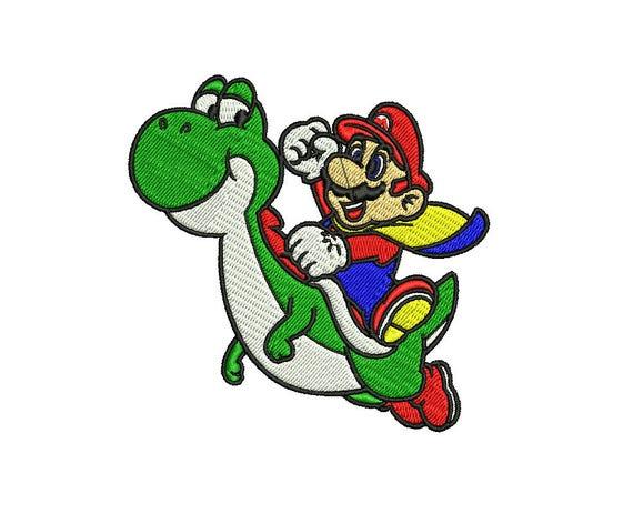 Mario Kart Applique Embroidery Designs