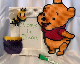 Winnie the Pooh dry erase board/ picture frame