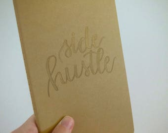 Side Hustle Moleskine Notebook