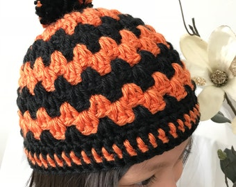Crochet Cable Kid's Hat