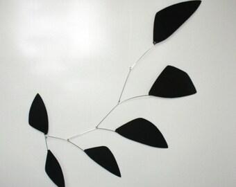 Tribute Hanging Mobile - Black Shapes