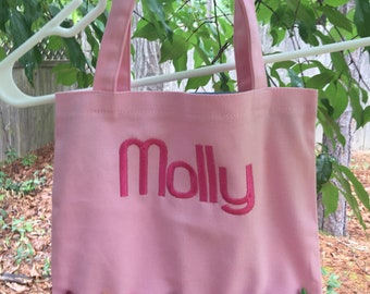 Personalized Kids Crayon Tote