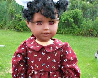 Prairie Dress for the American Girl Doll