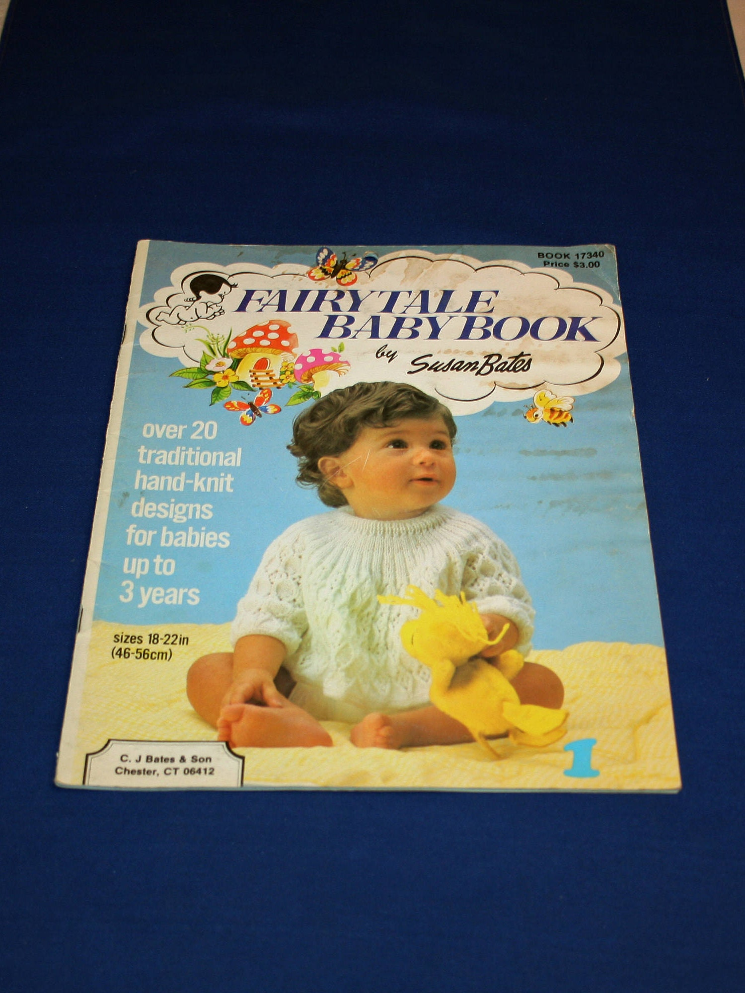 Vintage Fairy Tale Baby Pattern Booklet 20 knitting Patterns Book by ...