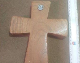 Walnut wall cross