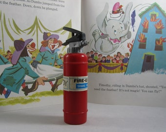 Fire Extinguisher Plastic Toy