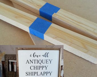 """Kit for Antiquey Goodness sign - 20"""" x 20"""""""