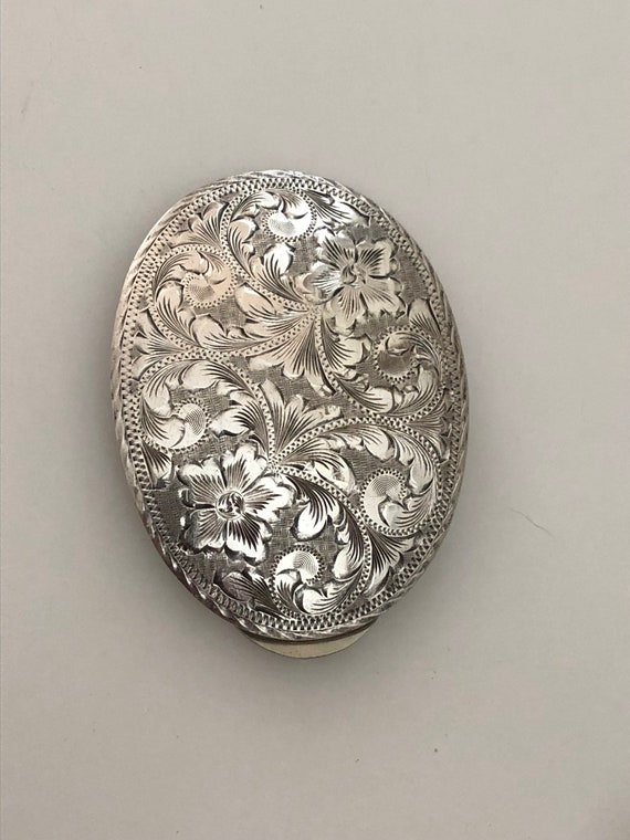 Vogt Silver Plated Buckle