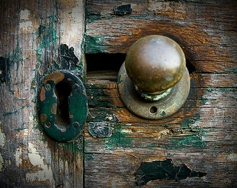 door handle - fine art photography, 4x6 5x7 8x10, philadelphia philly architecture street urbex