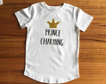 Prince Charming Baby Toddler Child T Shirt