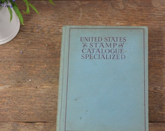 1948 United States Catalogue Specialized, Vintage Philately 26th Edition, Catalog