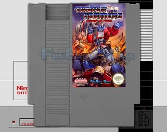 "SPECIAL ORDER! ""Transformers: Mystery Of Convoy"" English Version Unreleased Nintendo NES!"