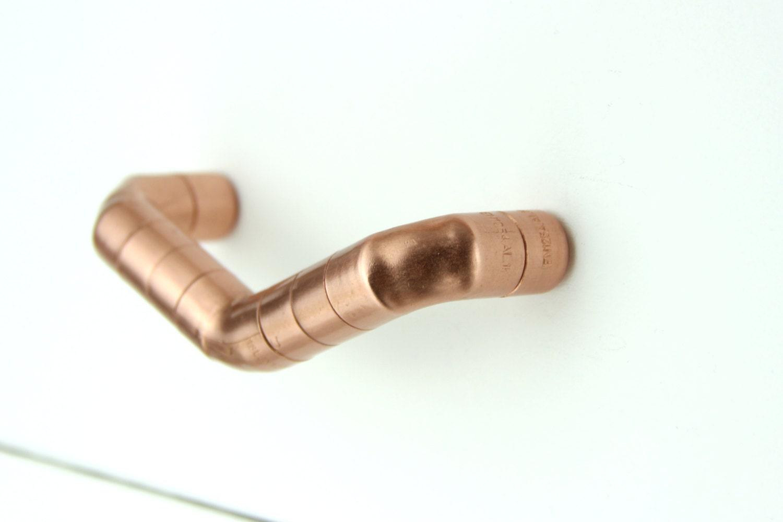 Lange Kupfer Kämmchen V Griff zeitgenössische Griff Henkel