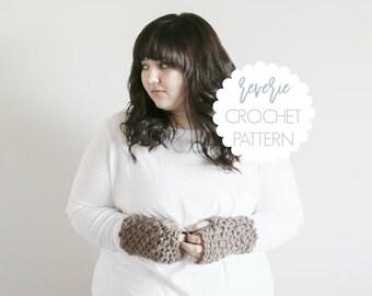 PATTERN   Reverie Handmade Chunky Crochet Fingerless Gloves   THE WATERFORDS