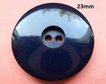 8 buttons Dark blue 23 mm (1716) button dark blue