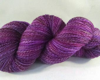 Handspun Merino Lace Weight Yarn - #661