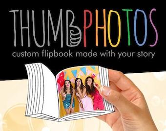 Custom flip book